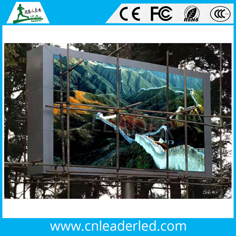 Shenzhen Leader led display outdoor p10 factory fast delivery time