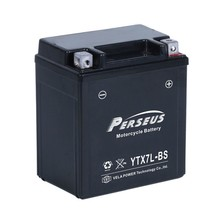 YTX7-BS 12V/7AH Maintainance Free Motorcycle battery