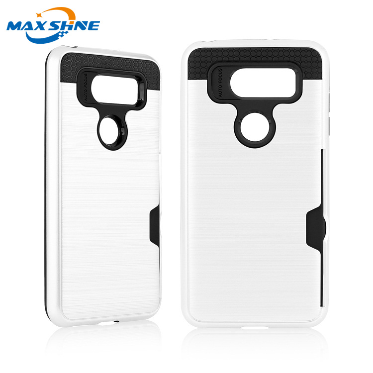 Maxshine 2018 new arrival phone cases for LG V30 tpu pc case