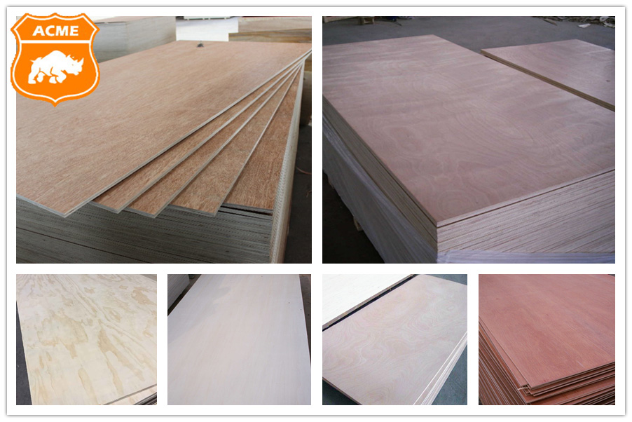 commercial plywood 18mm Bintangor poplar Plywood for furniture