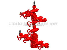 gas wellhead solid bull plug,tree cap,adapter flange,top connector, valves,cross and spool