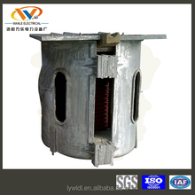 0.35Ton Electromagnetic industrial smelting furnace for precious metal plant
