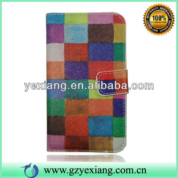 Color Design Flip Leather Case Cover For Nokia Lumia 520 Factory Price