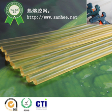 High strength yellowing resistance clear glue stick