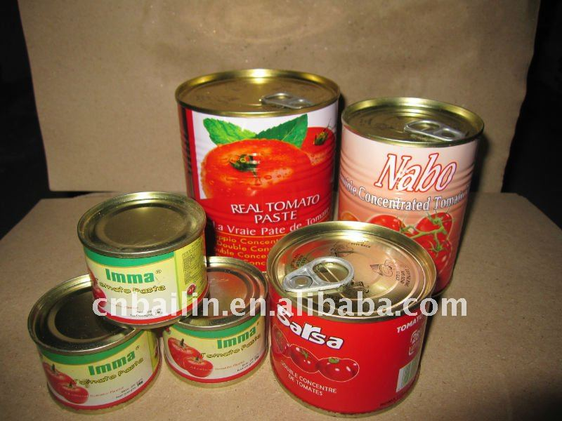 good quality tin tomato paste canned tomato jam