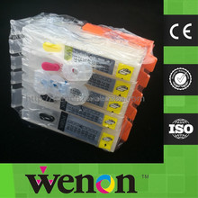 6 Color PGI-570 CLI-571 Refillable Cartridge With Chip For Canon PIXMA MG7750 MG7751 MG7752 MG7753 Inkjet Printer
