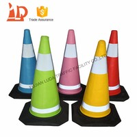 Reflective Road Safety Equipment EVA Used Traffic Cone