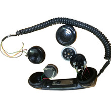 military communication system headset high quality black universal 3.5mm retro phone telephone handset