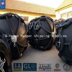 Pneumatic Yokohama Sling Type Rubber Fender Floating Rubber fender used for pier protection