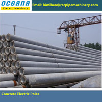 Best Price of Concrete Poles/Piles Production line