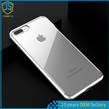 free sample mobile phone accessory back phone case for iphone 7 , for iphone 7 plus tpu case