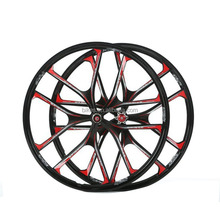 26 inch 27.5 inch Mountain Bike Rims wheelsBicycle magnesium alloy wheel