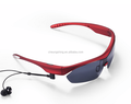 Rechargeable Bluetooth sunglasses sporty style good for outdoor and driving