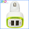 Universal 5v 2.1a mini Dual USB Car charger 2 port adapter for iPhone iPad iPod