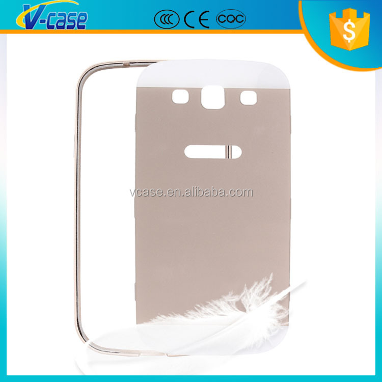 Mobile phone blue accessories phone case Metal aluminum bumper for samsung galaxy s3 i9300
