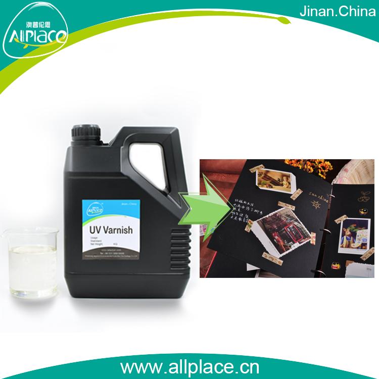 China Factory Price UV Coating Liquid Laminating for Photo Paper