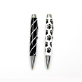 Pico New Novelty Personalized Mini Lapiceras Kawaii Fat Ballpoint Pen With Dog Paw Or Line Pattern