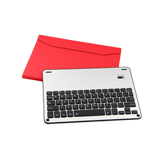 2018 Aluminum waterproof Keyboard with Magnetic charging for iPad Air /Air2/Pro Ergonomic Wireless Keyboard Case