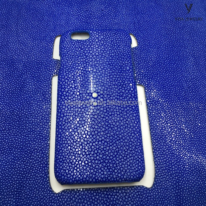 phone 6 leather case stingray leather handmade product luxury phone cover