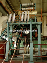 Upward Copper wire continuous casting machine supplier,copper tube wire rod melting continuous
