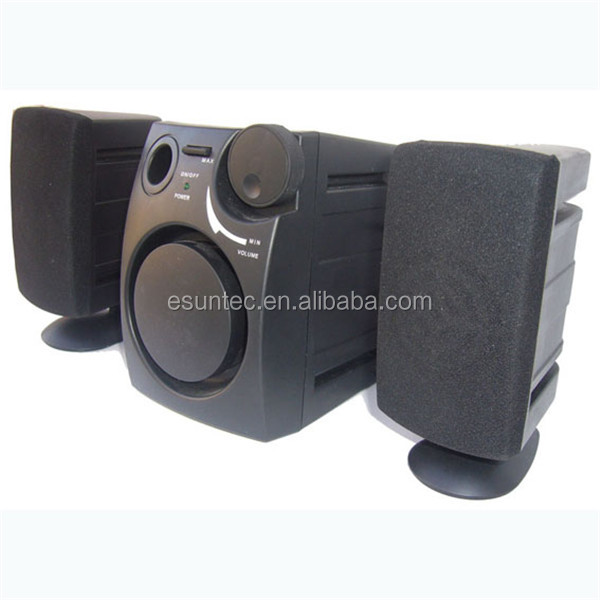 Promotion 2.1 speaker, AC USB customised speaker, ST-1050