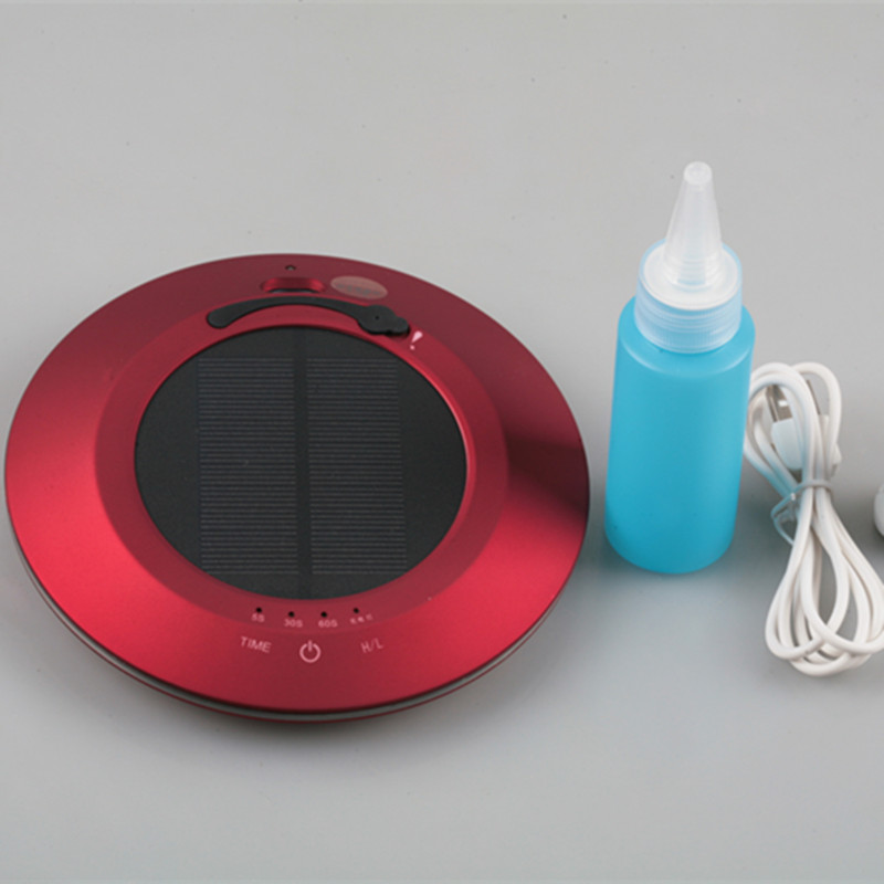 NEW STYLE!Car Air Freshener and solar energy Air Purifier Destroying Bacteria & Removes Dust Convenient from OHMEKA