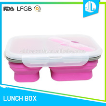 Good quality microware silicone insulated hot food containers