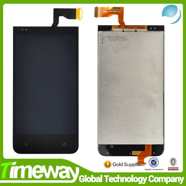 China wholesale replacement cellphone accessories for htc desire 300 301e lcd