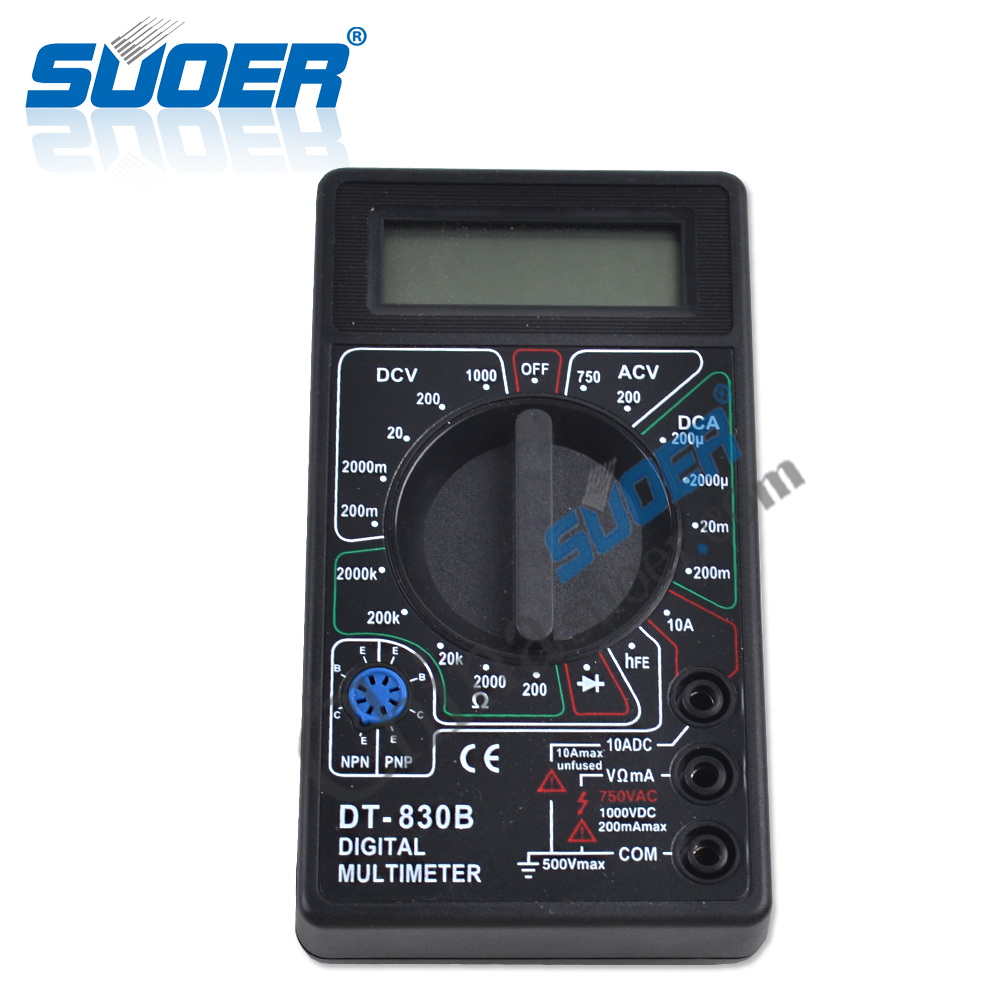 Suoer Low Price Digital Multimeter Smart Multimeter Specifications