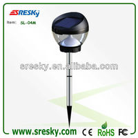 Japanese Style Stainless Steel Led Outside Garden Lighting Ip65