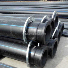 Plumbing Materials Black Plastic Polyethylene 8 inch PE 100 HDPE Water Pipe Manufacture Prices for Drain / Drainage