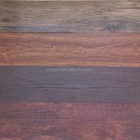 cheap pvc plastic flooring sheet like wood 2mm 3mm
