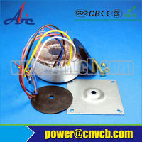 Toroidal power audio isolation transformer