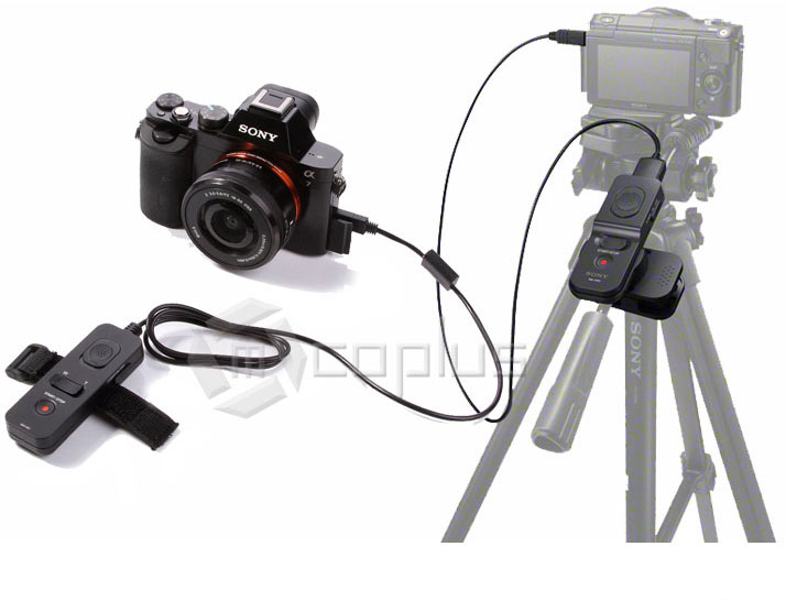 Mcoplus RM-VS1 Multi Terminal Cable Remote Control & Shutter Release in one 2 in 1 for Sony A7 A3000 NEX-3N NEX-5T A900 A77