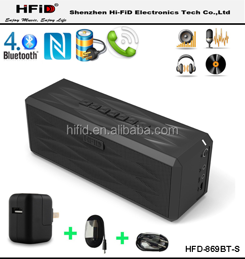2016 Mobile Boombox Bluetooth Speaker and Speakerphone