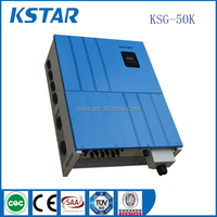 wifi module solar power inverter 50kw three phase on grid dc to ac pure sine ups inverters without battery