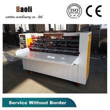 Top Selling rotary thin blades slotting machine/Machine for corrugated cardboard box