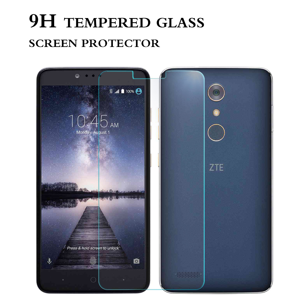 High Technology Oleophobic Coating Anti Shock 2.5D Tempered Glass Screen Protector For ZTE ZMAX Pro