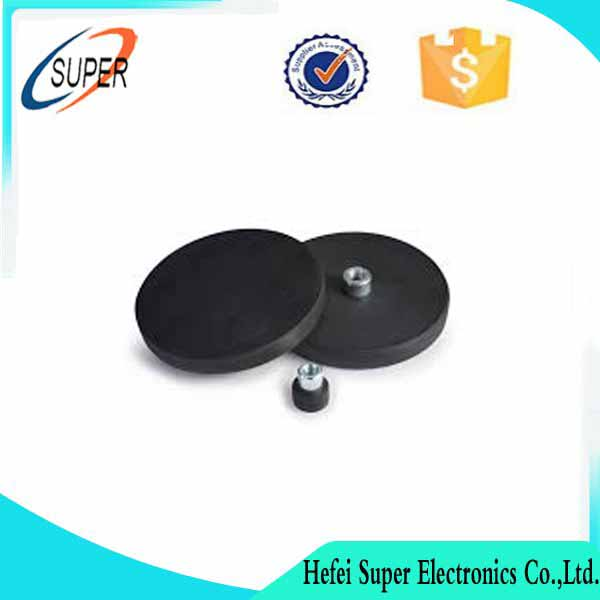 Wholesale strong holding force Rubber Magnetic Base