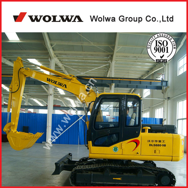 Wolwa DLS880-9B mini crawler excavator for sale with amazing price