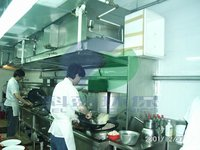 Commercial Kitchen Stainless Cooking Exhaust Cooker Hood and Purification System