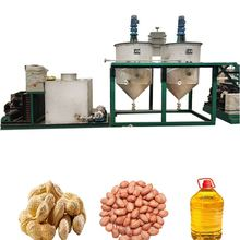 China factory price sunflower peanut cooking oil refining small fresh palm oil mills in nigeria