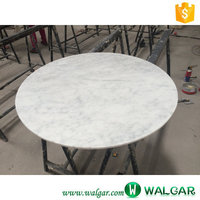 white marble and granite modern small round coffee tables