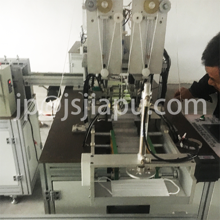 JIAPU Auto Face Mask Outer Earloop Welding Machine