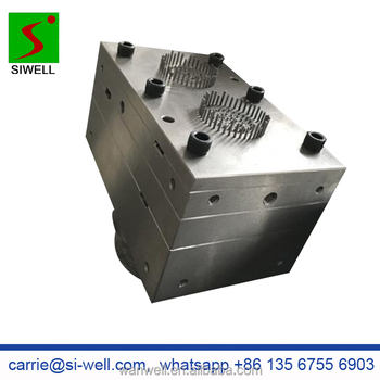 Fish pond white PE bio filter mould die tool