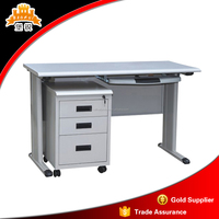 high quality simple design steel furniture specifications office computer table