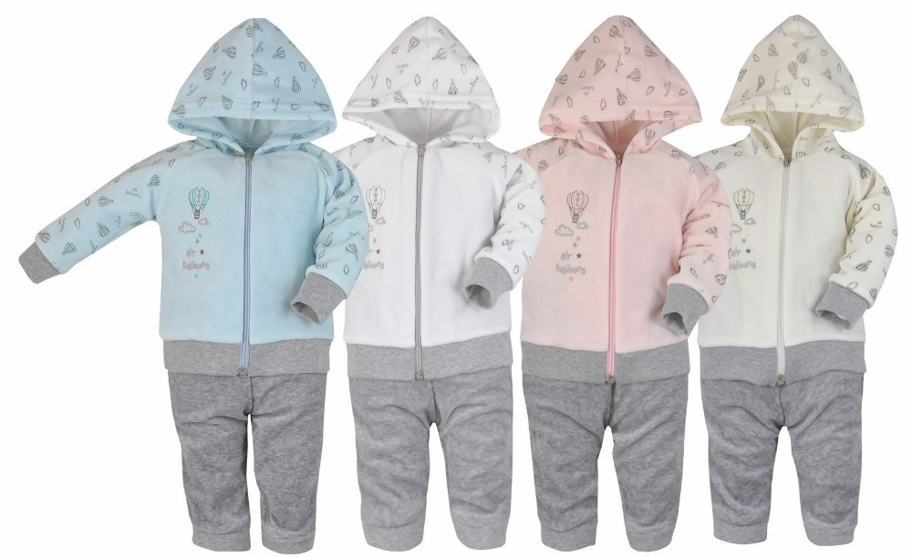 Highest quality baby children set tracksuit Bloom made in EU