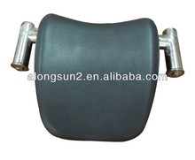 bath pu pillow with stainless steel stand