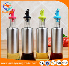 New Durable Useful Stainless Steel Leakproof Olive Oil and Vinegar Bottle Sauce Oil Can
