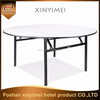 Asia modern home furniture plywood round dinner table